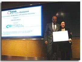 Amigos de los Mayores premiado en la convocatoria de ayudas «AXA de Todo Corazón»