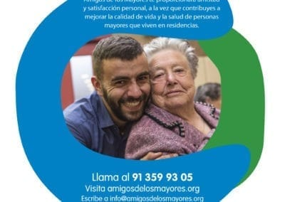 Haz voluntariado en residencias