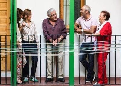 Únete a Grandes Vecinos y dale vida a tu barrio alrededor de las personas mayores: 17 de mayo, próxima reunión