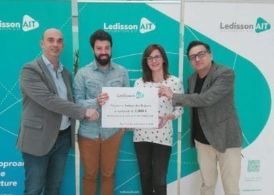 La empresa Ledisson AIT se suma a la lucha contra la soledad no deseada