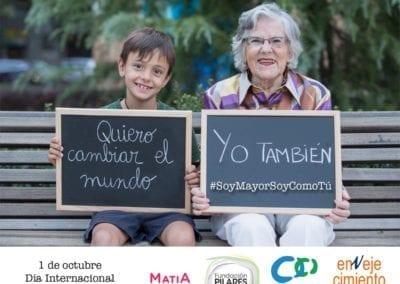 Amigos de los Mayores se une a otras organizaciones dedicadas a las personas mayores para reclamar en un manifiesto un papel activo y protagonista de las personas mayores en la sociedad