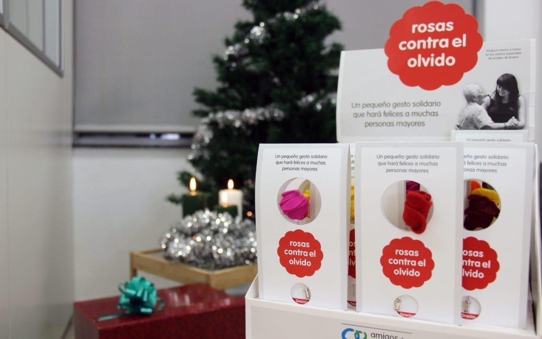 Esta Navidad regala amistad comprando Rosas contra el olvido