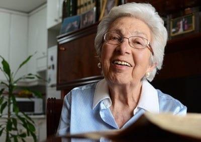 Amelia: «Tengo mejor vejez que la que tenía mi abuela»