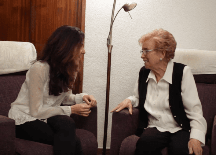 Asunción y Blanca: «La amistad no entiende de años»