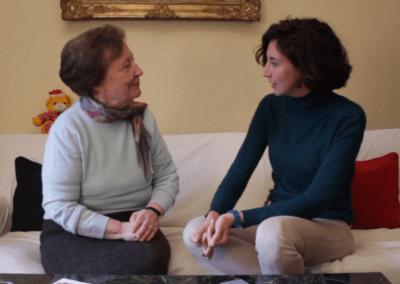 Irene y Ana: «La mujer antes tenía más dependencia del hombre»