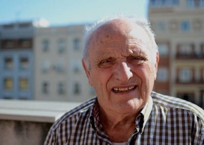 Lorenzo, «Si ayudas a los demás vives más años»