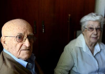 Luís y Consolación: «Ahora la gente no tiene paciencia»