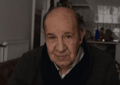 Manuel «Intento pensar en alegrías no en tristezas»