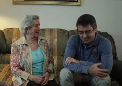 Puri y Pablo, un año de domingos compartidos