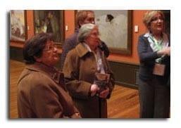 Amigos de los Mayores en el Museo Sorolla con AON