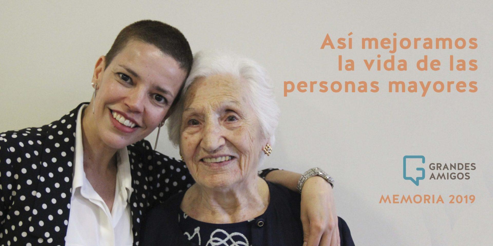 Un proyecto sostenible con más de 2.000 personas unidas por un envejecimiento sin soledad: la labor de Grandes Amigos en 2019