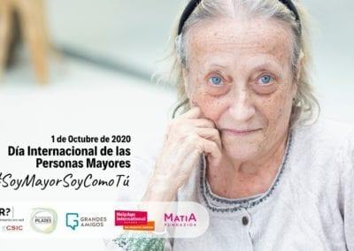 Garantizar la igualdad de derechos y la dignidad de las personas mayores debe convertirse en una prioridad de la agenda política y social
