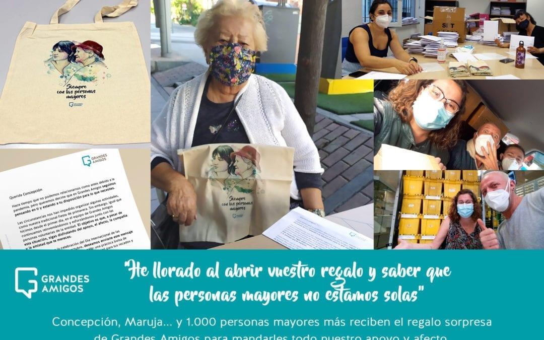 «Siempre con las personas mayores»: el mensaje de apoyo y ánimo a los que más se lo merecen