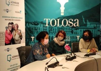Adinkide, Tolosako adinekoen bakardadeari aurre egiteko programa berria