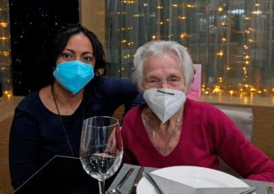 Más de 500 personas mayores disfrutan en Navidad de nuestras actividades de apoyo y socialización