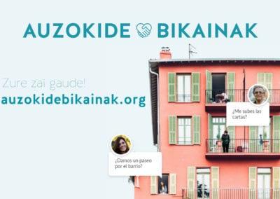 Adinkide GKEak Auzokide Bikainak-en webgune berria jarri du abian